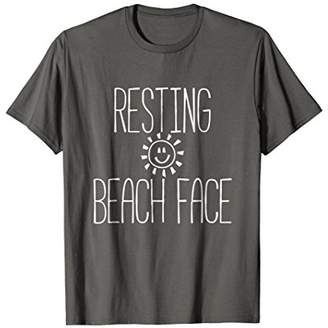 Resting Beach Face T-Shirt