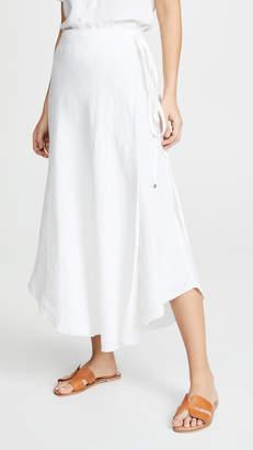 1d863132b3e Womens White Linen Skirt - ShopStyle