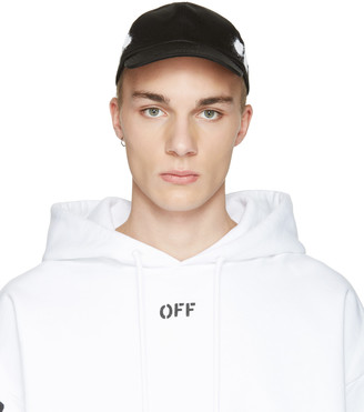 Off-White Black Diagonal Spray Cap $120 thestylecure.com