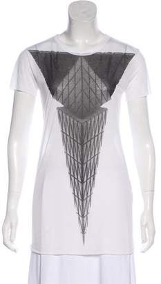 Gareth Pugh Graphic Short Sleeve Top