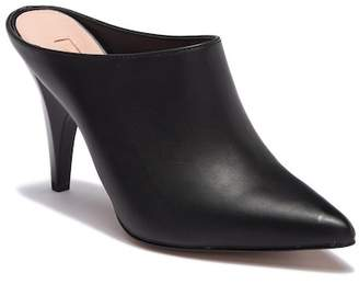 AVEC LES FILLES Jamie Leather Pointed Toe Mule Slip-On Bootie