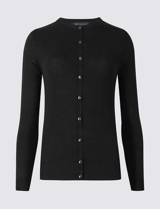 Marks and Spencer PETITE Round Neck Cardigan