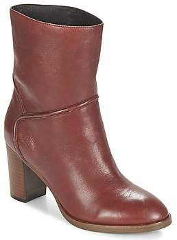 JB Martin XILONE women's Low Ankle Boots in Brown