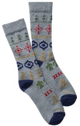 Pendleton Fair Isle Wool Blend Camp Crew Socks