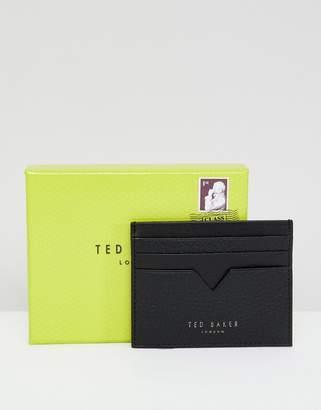 Ted Baker Hunkee Card Holder in Pebble Grain Leather