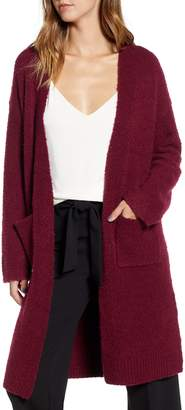 Leith Boucle Long Cardigan