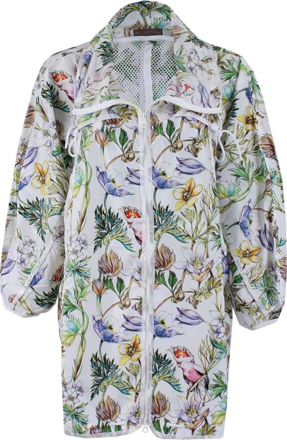 adidas by Stella McCartney STELLA McCARTNEY ADIDAS Oversize Hood Floral Anorak