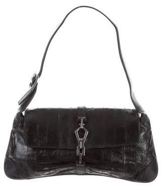 Gucci Eel Skin Jackie Flap Bag