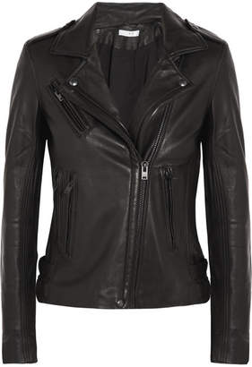 IRO Leather Biker Jacket - Black