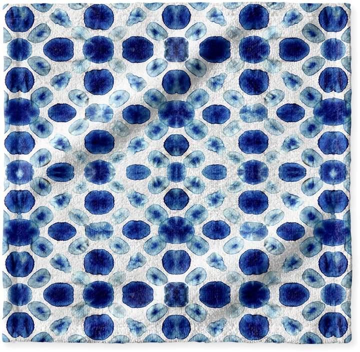 Kavka Designs Shibori Circle Wash Cloth