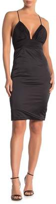 ALPHA & OMEGA Sexy Date Pleated Dress
