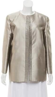 Valentino Silk Satin Jacket
