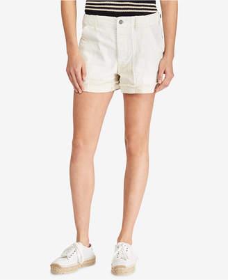 Polo Ralph Lauren Patchwork Cotton Shorts