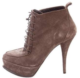 Elizabeth and James Suede Platform Booties