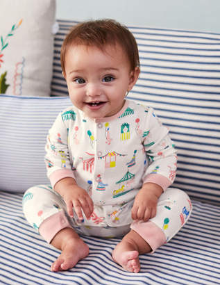 Boden Twin Pack Cosy Rompers