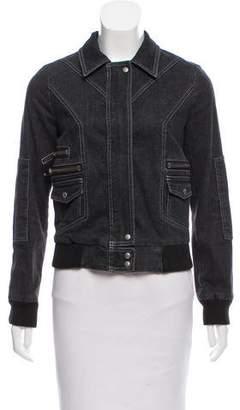 Marc by Marc Jacobs Denim Long Sleeve Jacket