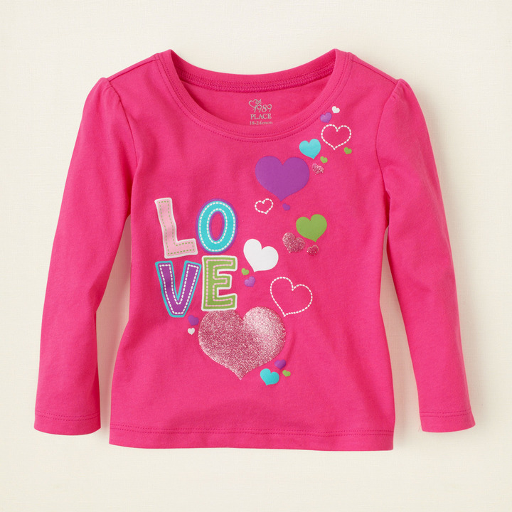 Love Hearts graphic tee