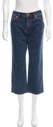 MICHAEL Michael Kors Cropped Mid-Rise Jeans w/ Tags