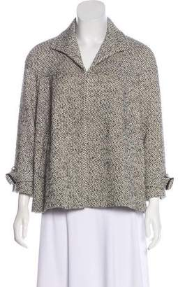 Lafayette 148 Patterned Knit Jacket