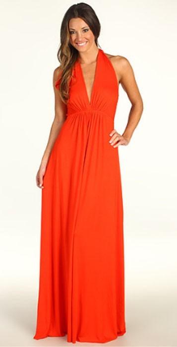 Rachel Pally Kyrie Maxi Dress in Fire