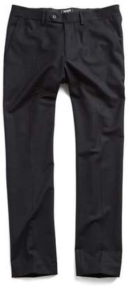 Todd Snyder Hudson Tab Front Chino Pant in Black