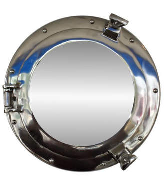 Beachcrest Home Graysville Porthole Accent Mirror