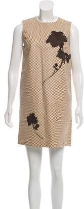 Louis Vuitton Sequined Leather Dress w/ Tags