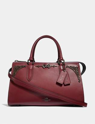 Coach Selena Bond Bag With Crystal Embellishment