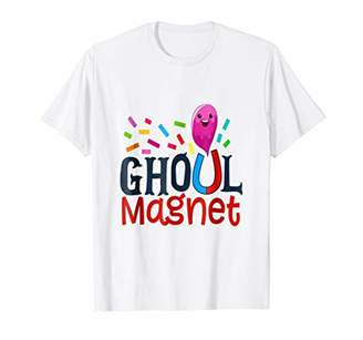 Ghoul Magnet Funny Kids Halloween Ghost Shirt Boys Girls