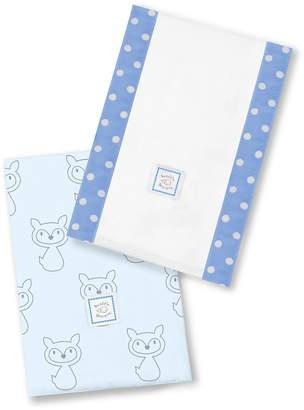 Swaddle Designs Baby Burpies, Set of 2 Cotton Burp Cloths