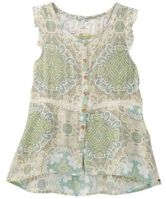 O'Neill Meg Button Front Top (Little Girls & Big Girls)