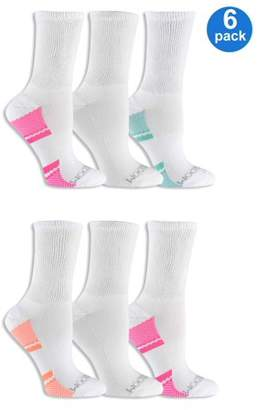 Fruit of the Loom Women's Fit For Me Everyday Active Crew Socks 6 Pair