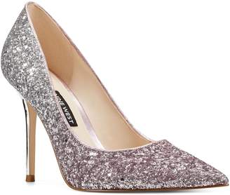 Nine West Pointed-Toe Glitter Pumps - Bliss