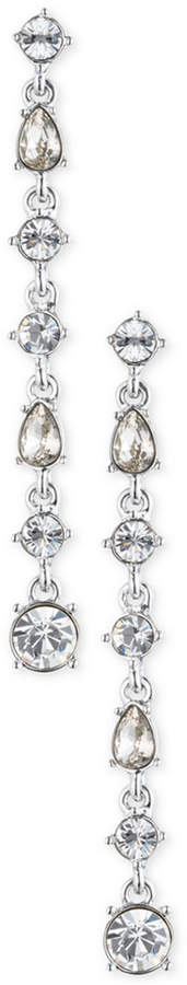 Givenchy Colored Stone Linear Drop Earrings