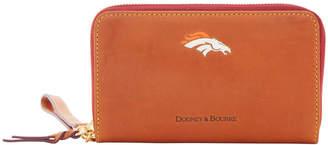 Dooney & Bourke NFL Broncos Zip Around Phone Wristlet