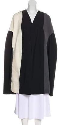 Rick Owens 2018 Wool Knee-Length Coat w/ Tags