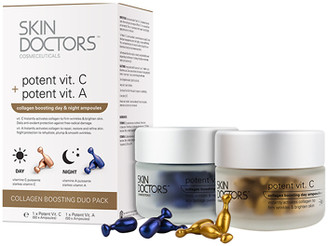 Skin Doctors Collagen Boosting Ampoules Duo Pack