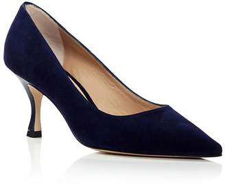 eb8aab55b19 Stuart Weitzman Women s Tippi 70 Pointed Toe Kitten Heel Pumps