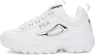 Fila Heritage Disruptor II Low-Top Leather Sneakers
