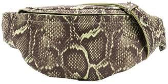 Manokhi snake print belt bag