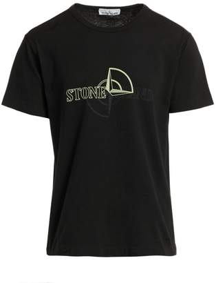 Stone Island Compass Graphic T-Shirt