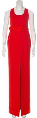 SOLACE London Scoop Neck Belted Maxi Dress w/ Tags