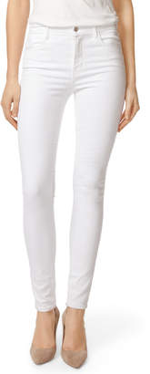 Maria High-Rise Super Skinny in Blanc