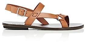 Barneys New York Men's Slingback-Strap Sandals - Beige, Tan