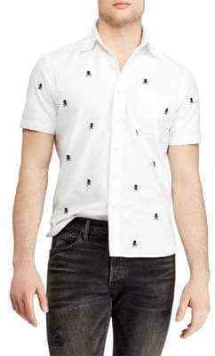 Polo Ralph Lauren Classic-Fit Cotton Button-Down Shirt
