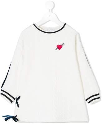 Elsy arrow heart knit jumper