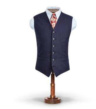 Ralph Lauren Pinstripe Tweed Vest