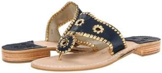 Jack Rogers Nantucket Gold Women's Sandals