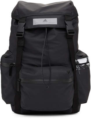 adidas by Stella McCartney Black Foldover Backpack