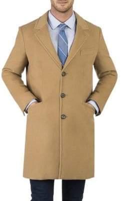 Norwegian Wool Quilted Topcoat